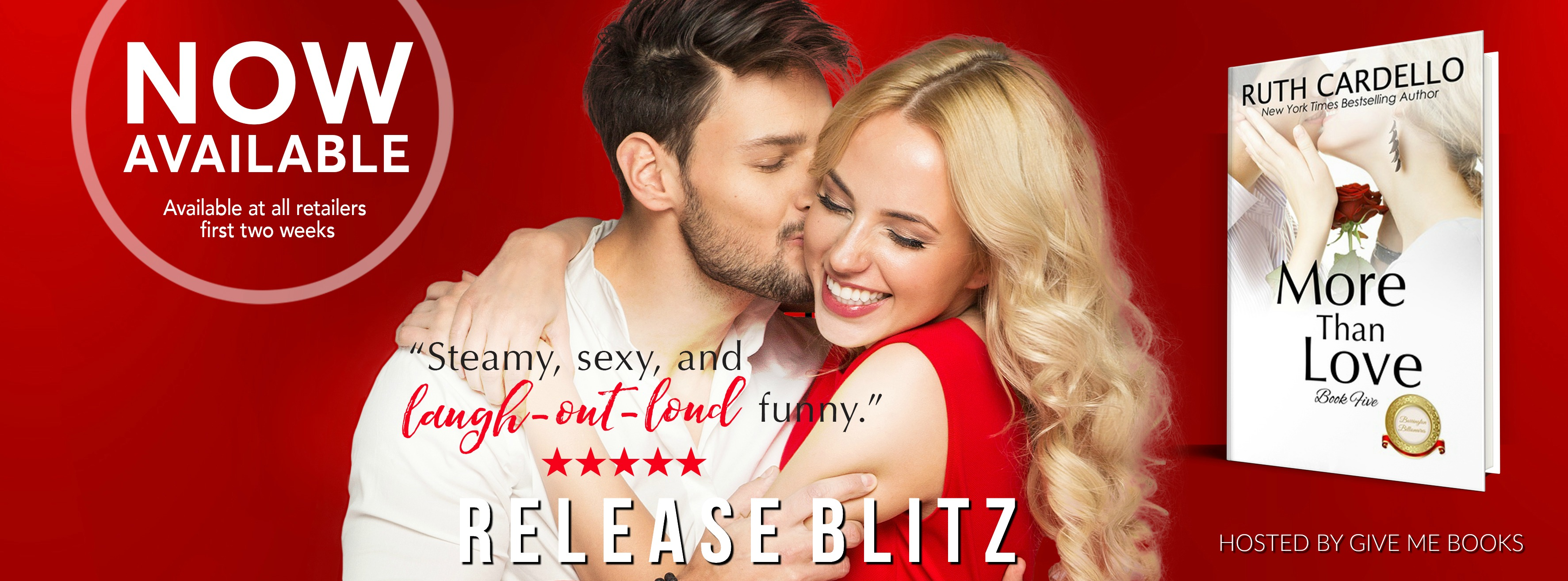 Release Blitz – More Than Love by Ruth Cardello