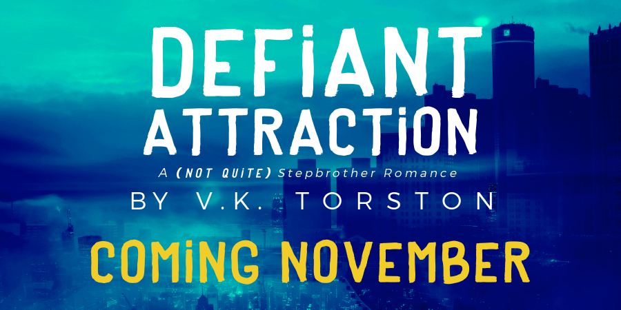 Cover Reveal – Defiant Attraction by V.K. Torston