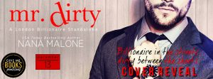 Cover Reveal: Mr. Dirty by Nana Malone