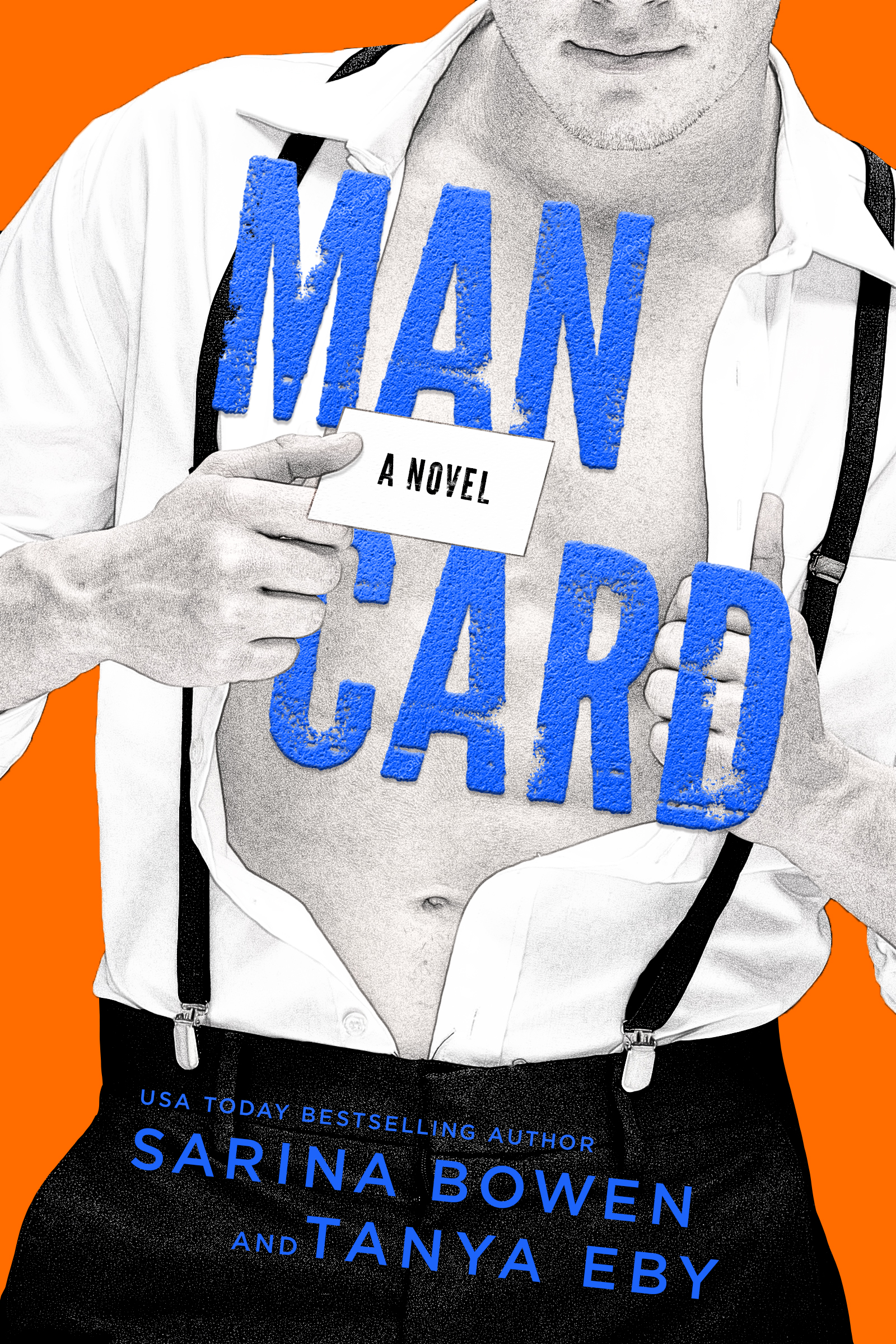 Cover Reveal: Man Card by Sarina Bowen and Tanya Eby
