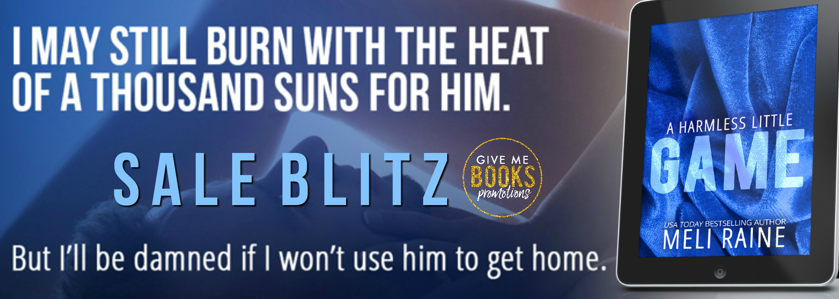 Sale Blitz: A Harmless Little Game by Meli Raine