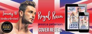 Cover Reveal: Royal Ruin by Jessica Peterson