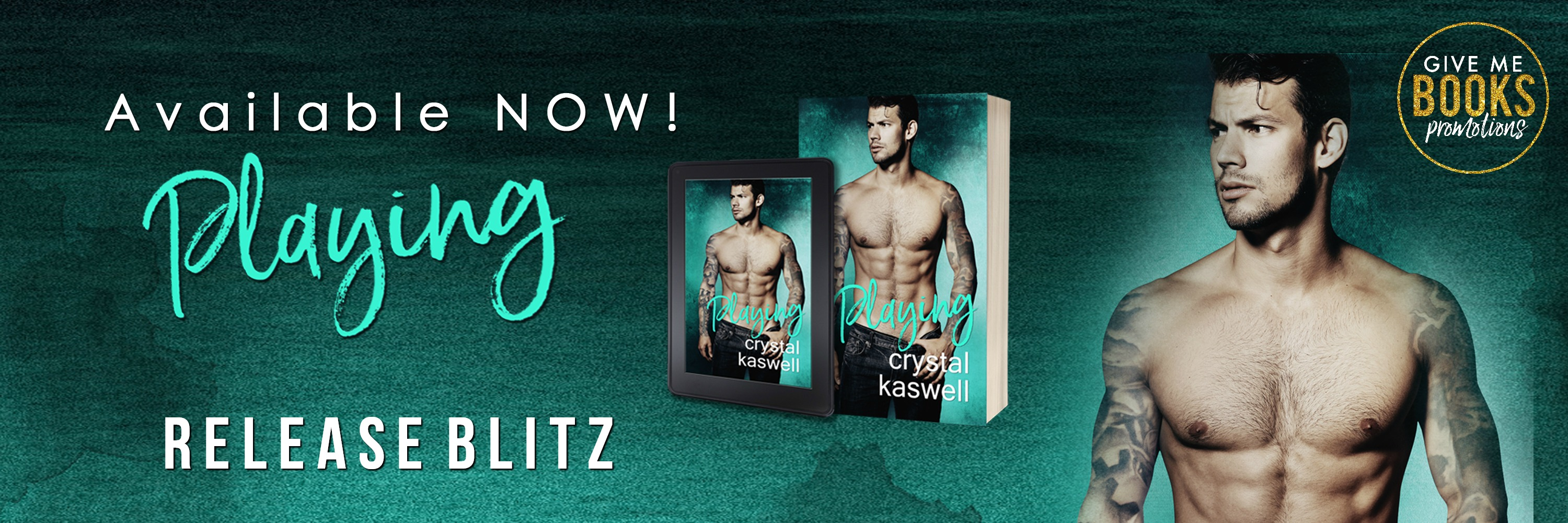 Release Blitz: Playing by Crystal Kaswell