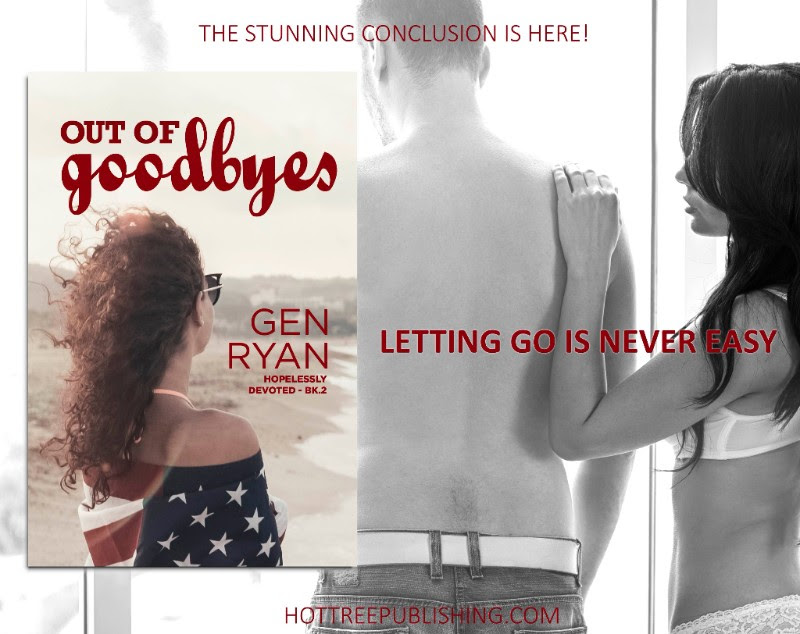 New Release: Out of Goodbyes by Gen Ryan