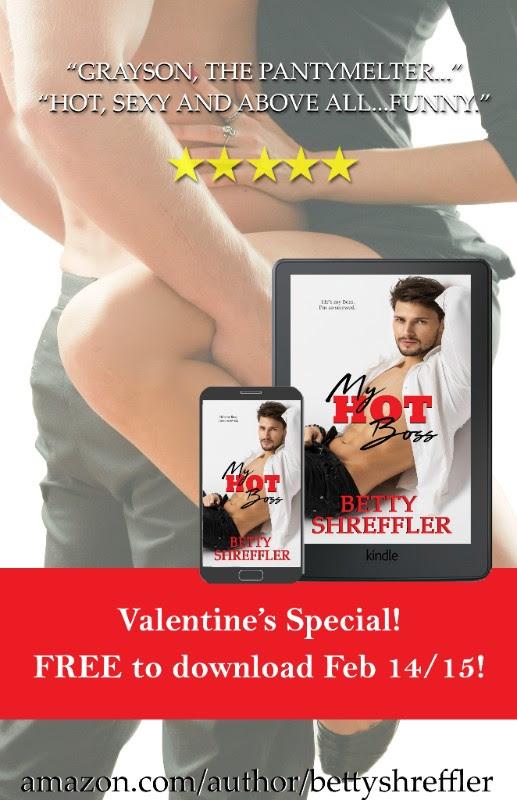 Free: My Hot Boss by Betty Shreffler 2/14 – 2/15/18 ONLY