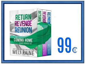 Sale: The Coming Home Series by Meli Raine