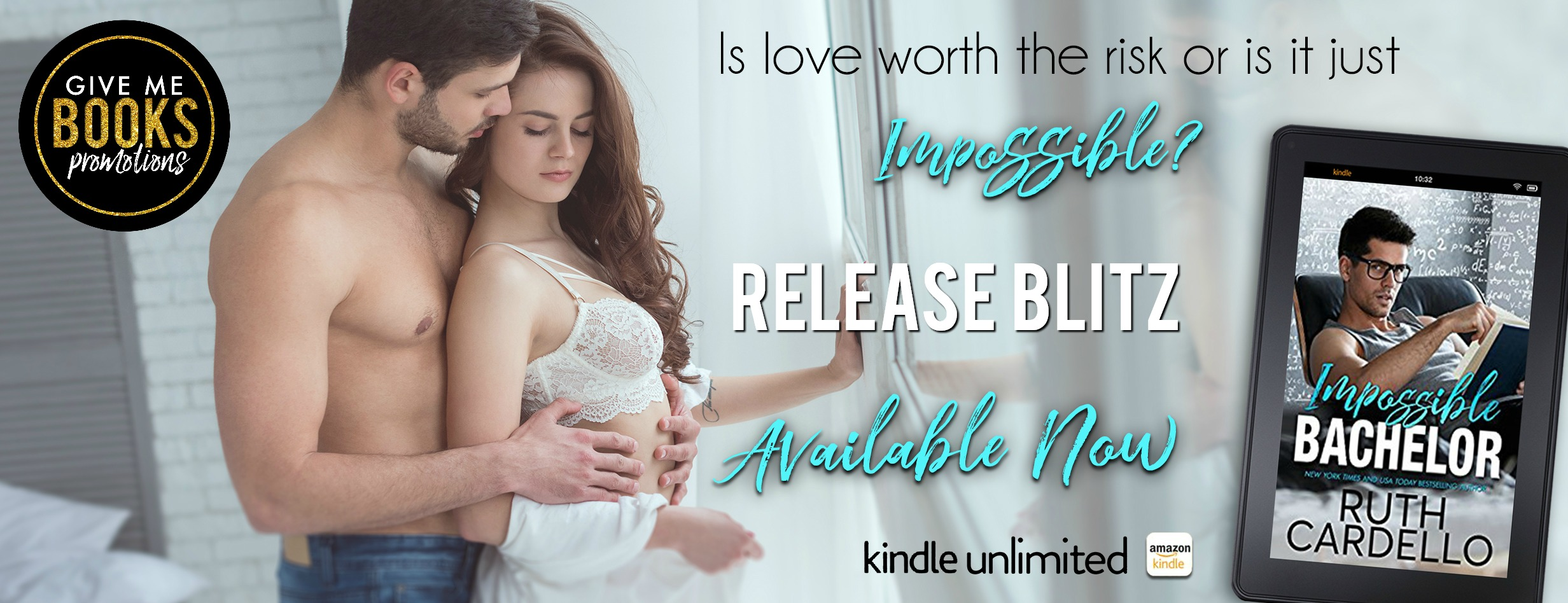 Release Blitz: Impossible Bachelor by Ruth Cardello