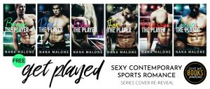 Series Cover Re-Reveal: The Player Series by Nana Malone
