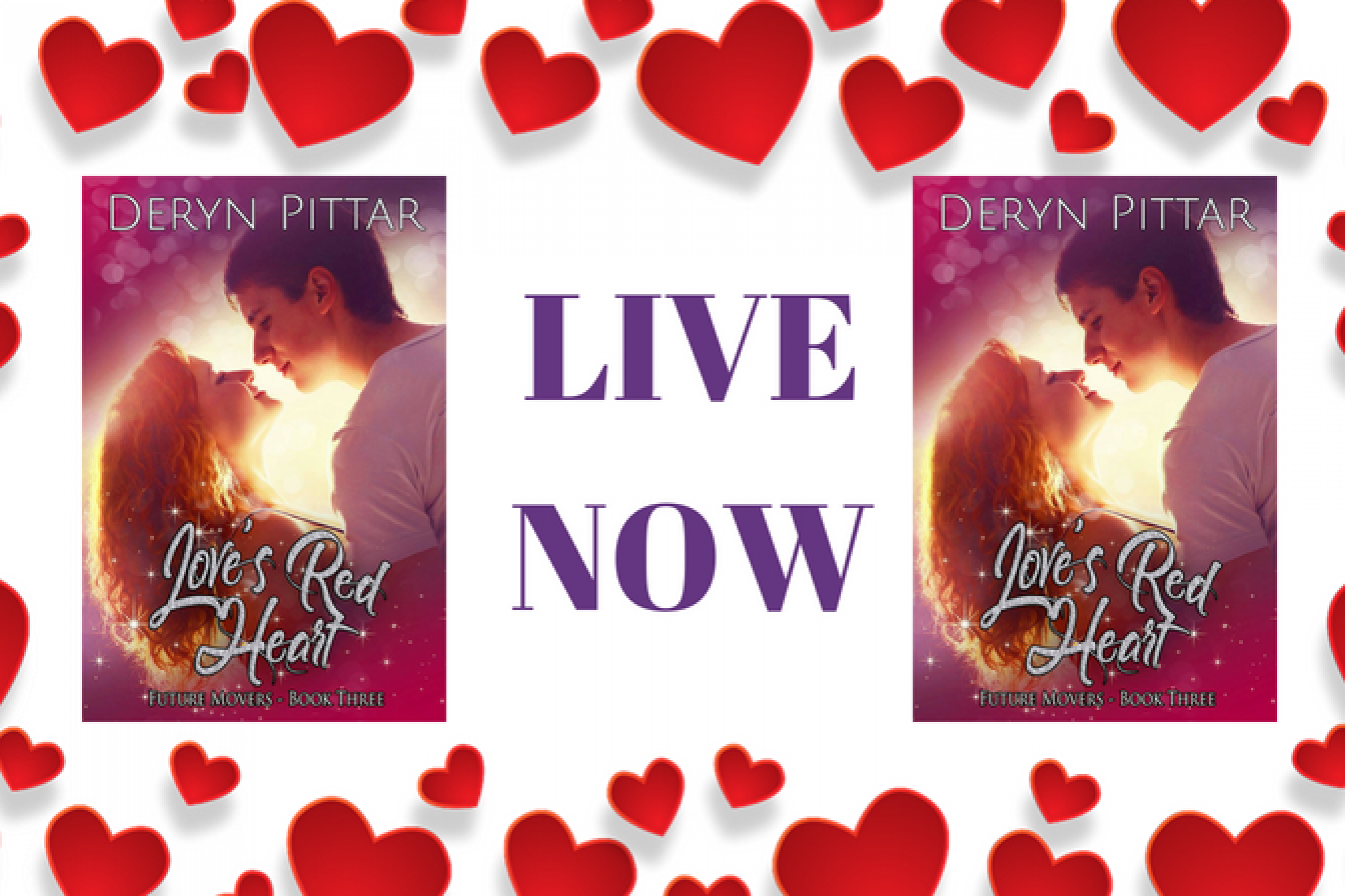 Now Live: Love's Red Heart by Deryn PIttar