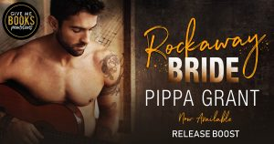Release Boost: Rockaway Bride by Pippa Grant