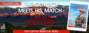 Release Blitz: The Cowboy Meets His Match by Sarah Mayberry