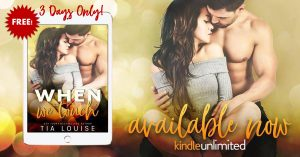 Free: When We Touch by Tia Louise
