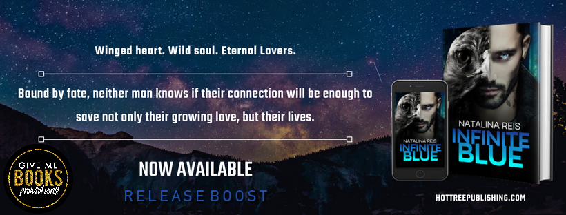 Release Boost: Infinite Blue by Natalina Reis