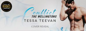 Cover Reveal: Conflict by Tessa Teevan
