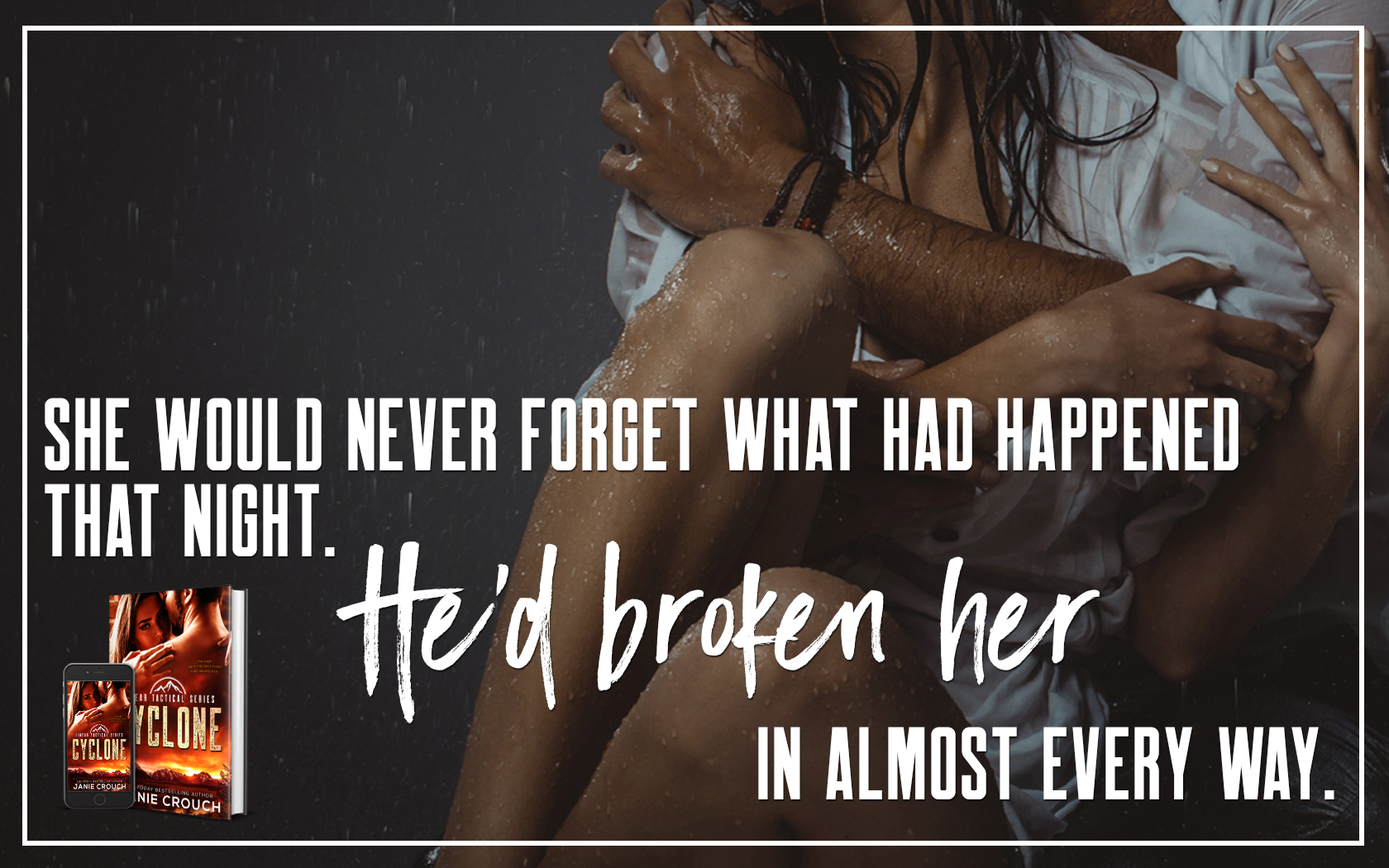 Teaser Reveal: Cyclone by Janie Crouch