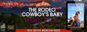 Release Blitz: The Rodeo Cowboy's Baby by Heidi Rice