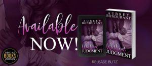 Release Blitz: Without Judgment by Aubrey Bondurant