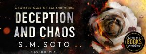 Cover Reveal: Deception and Chaos by S.M. Soto
