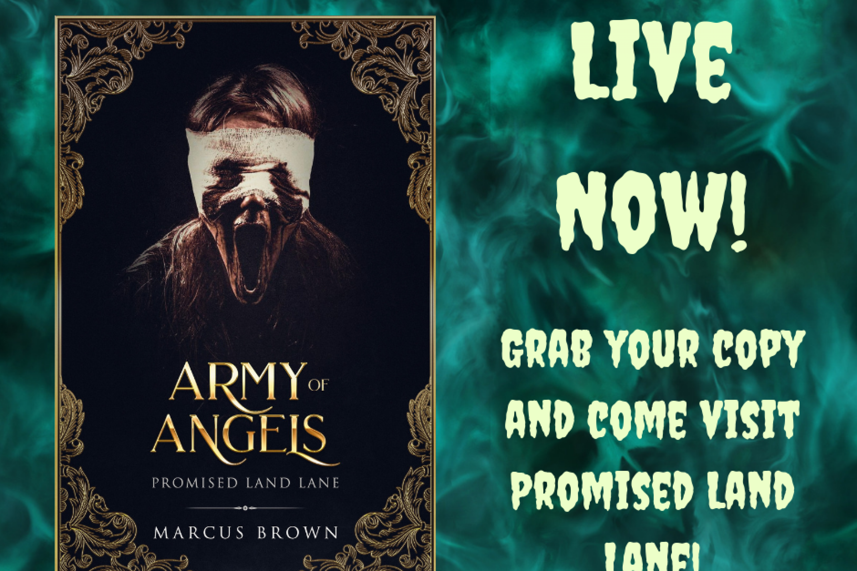 Release Blitz: Promised Land Land – Part Two Army Of Angles by Marcus Brown