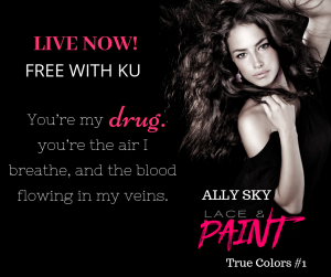 Blog Tour: Lace and Paint by Ally Sky