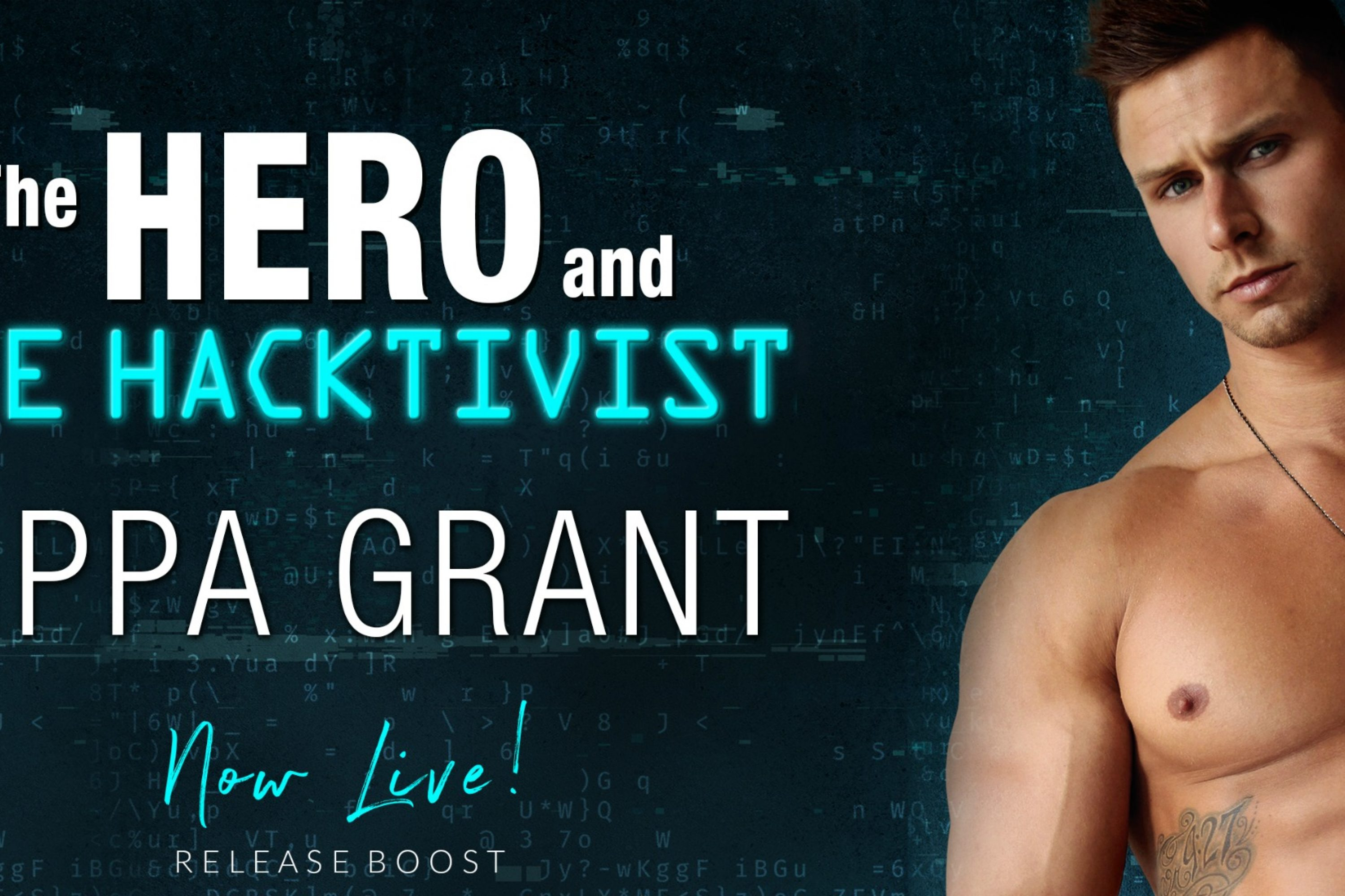 Release Boost: The Hero and the Hacktivist by Pippa Grant
