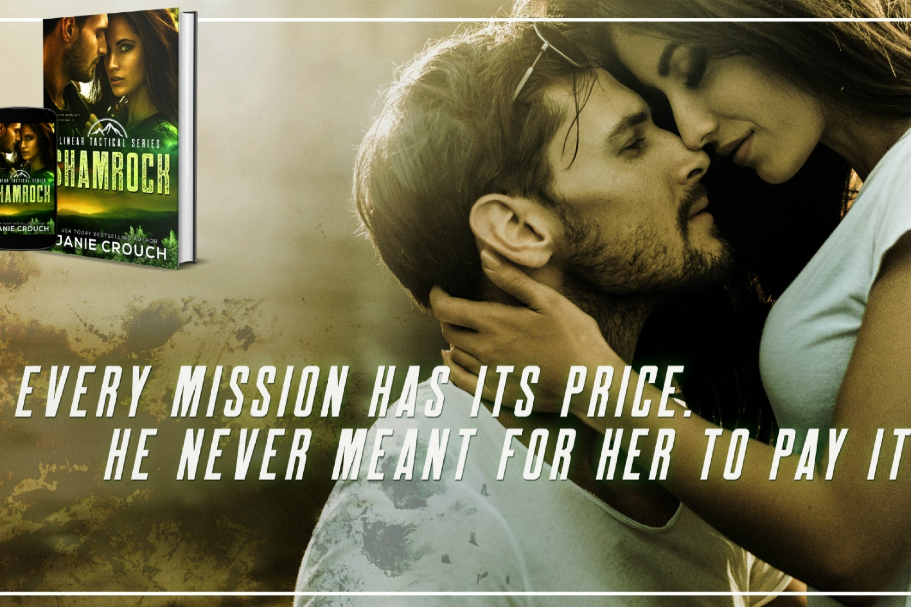 Teaser Reveal: Shamrock by Janie Crouch