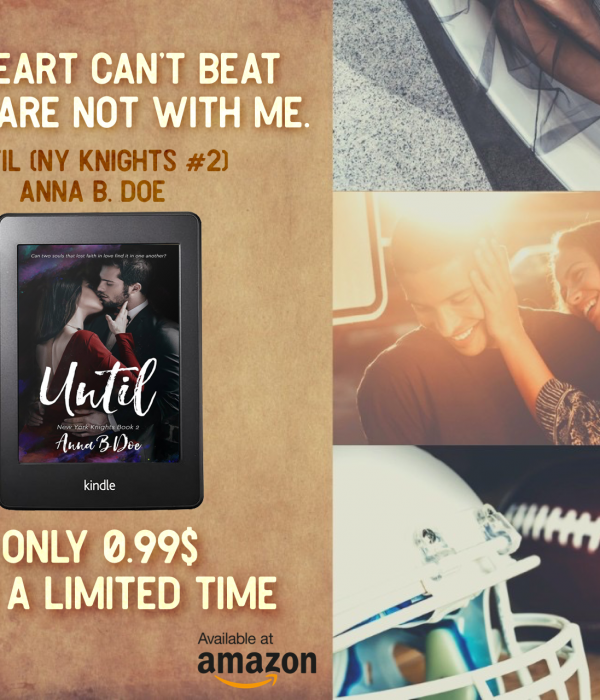 Black Friday Sale: Until by Anna B. Doe