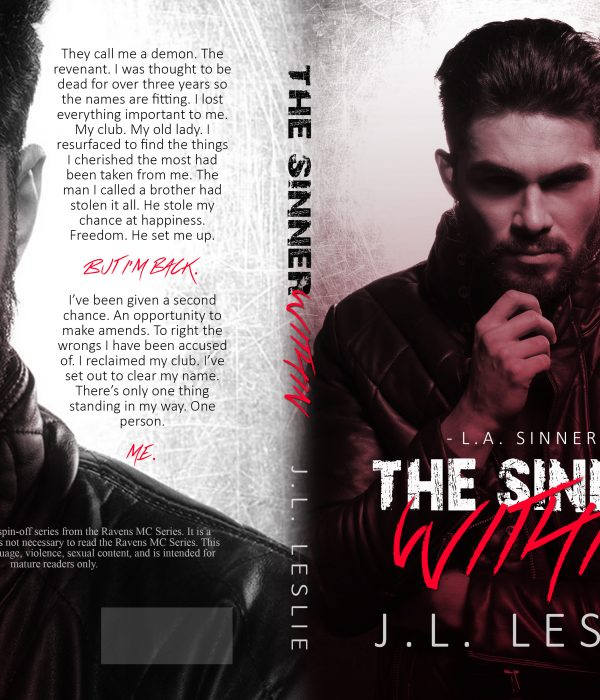Cover Reveal: The Sinner Within by J.L. Leslie