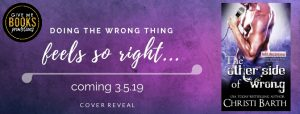 Cover Reveal: The Other Side of Wrong by Christi Barth