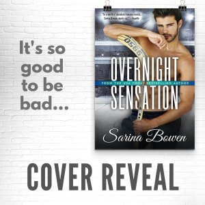 Cover Reveal: Overnight Sensation by Sarina Bowen