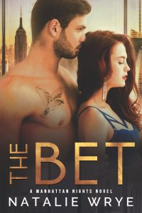 Cover Reveal: The Bet by Natalie Wrye