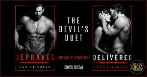 Cover Reveal: The Devil's Duet by Eva Charles