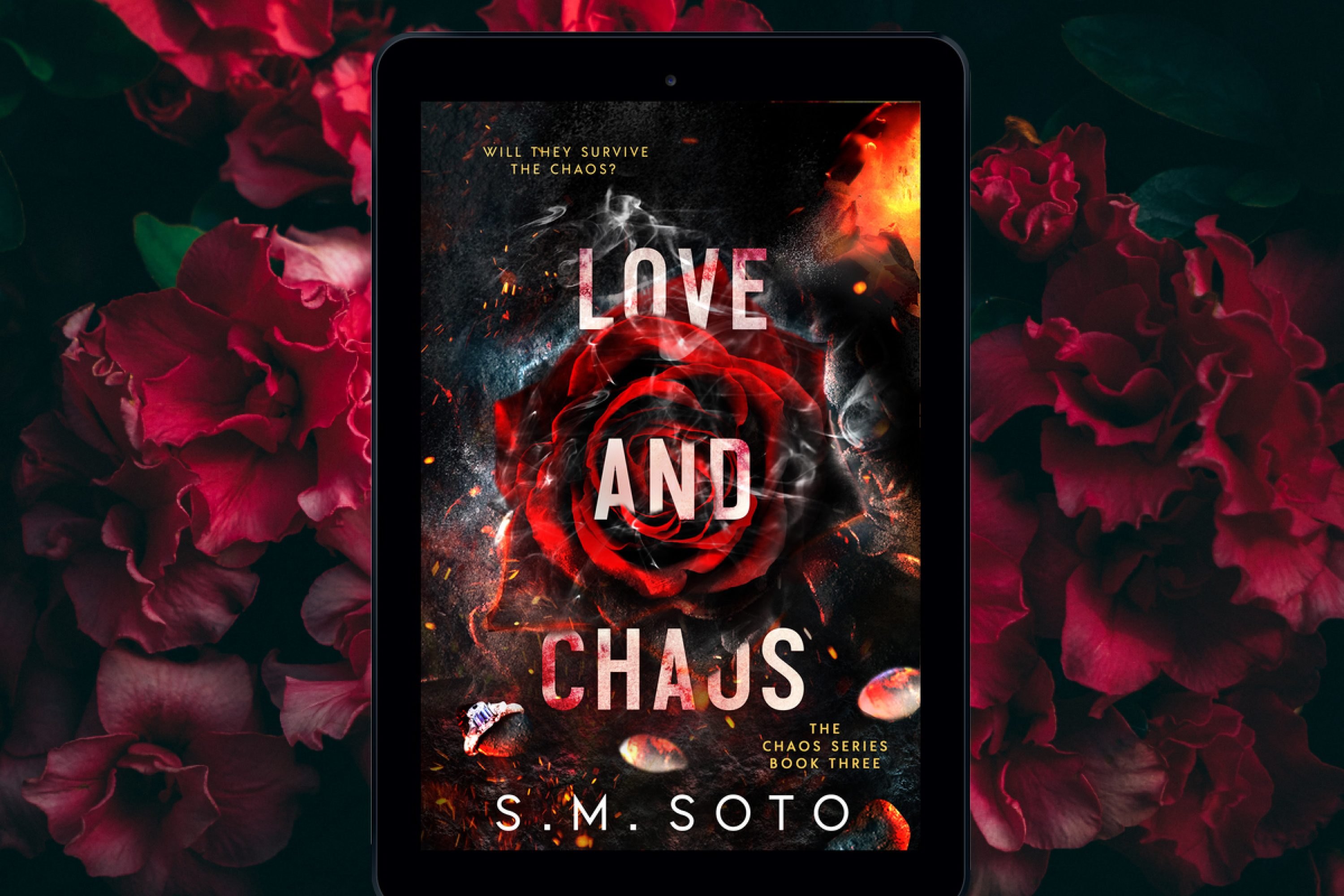 Coming Soon: Love and Chaos by S.M. Soto