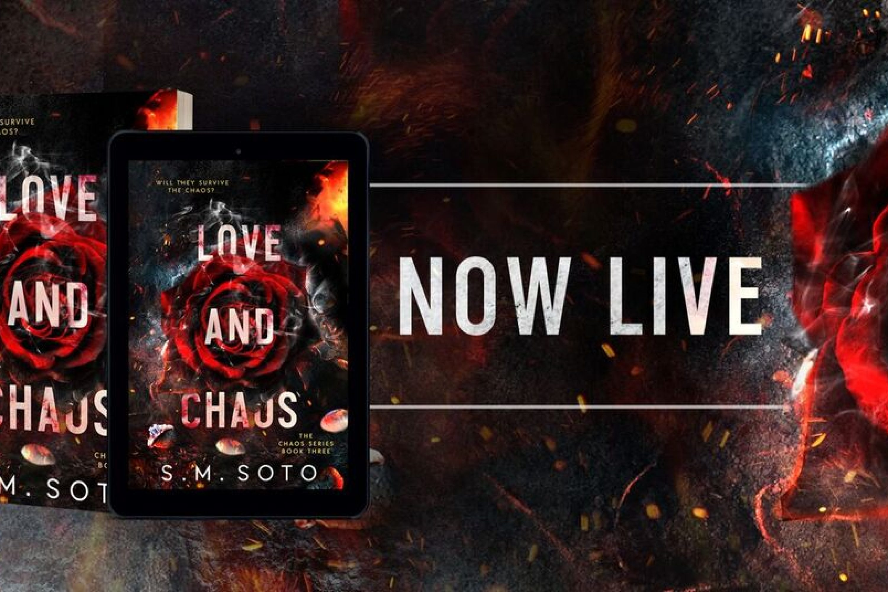 Release Blitz: Love and Chaos by S.M. Soto