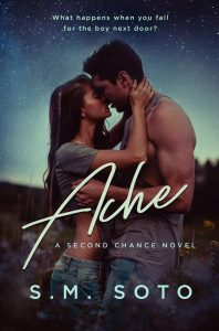 Cover Reveal (and Giveaway): Ache by S.M. Soto
