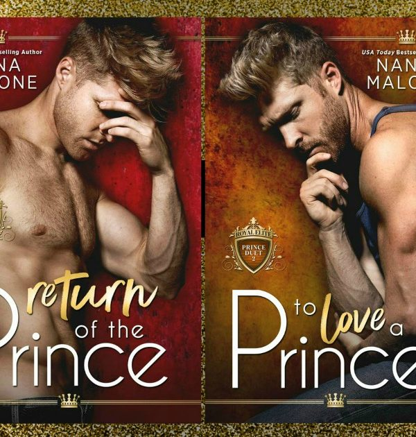 Cover Reveal: The Royal Elite Prince Duet by Nana Malone
