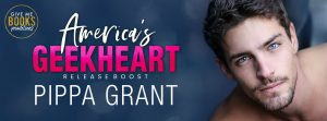 Release Boost: America's Geekheart by Pippa Grant