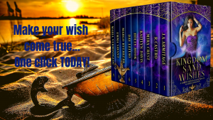 Coming Soon Kingdom of Sand and Wishes: A limited edition of Aladdin retellings