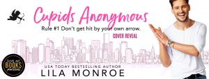 Cover Reveal: Cupids Anonymous by Lila Monroe