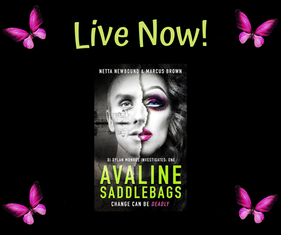 New Release: Avaline Saddlebags (DI Dylan Monroe Investigates Book 1) by Netta Newbound & Marcus Brown