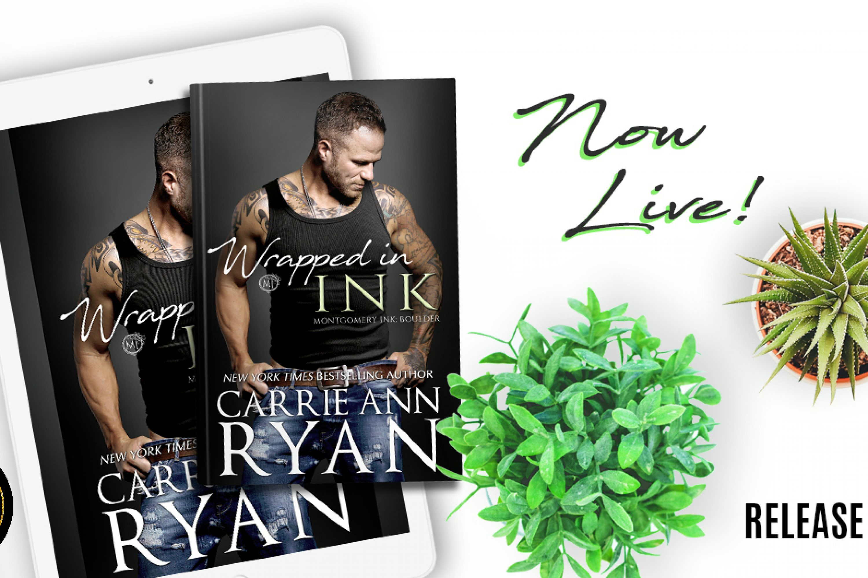 Release Blitz: Wrapped in Ink by Carrie Ann Ryan