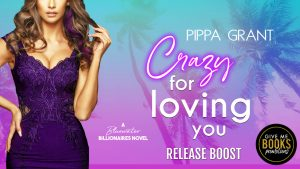 Release Boost: Crazy for Loving You by Pippa Grant