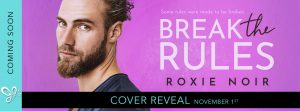 Cover Reveal: Break the Rules by Roxie Noir