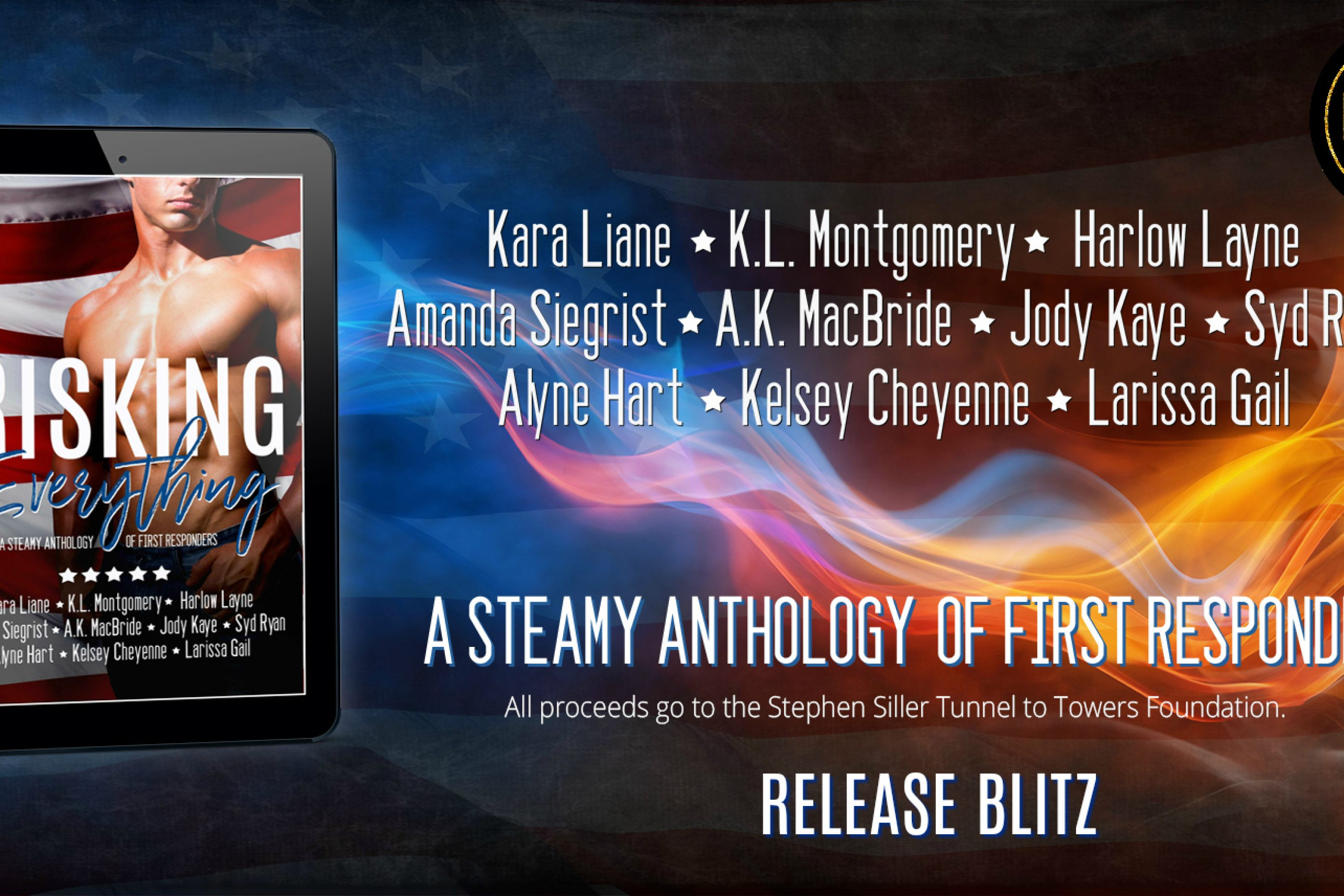 Release Blitz: Risking Everything: A Steamy Anthology of First Responders
