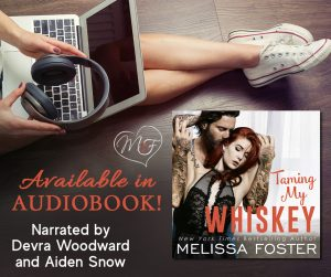 Audiobook Review Tour: Taming My Whiskey By Melissa Foster
