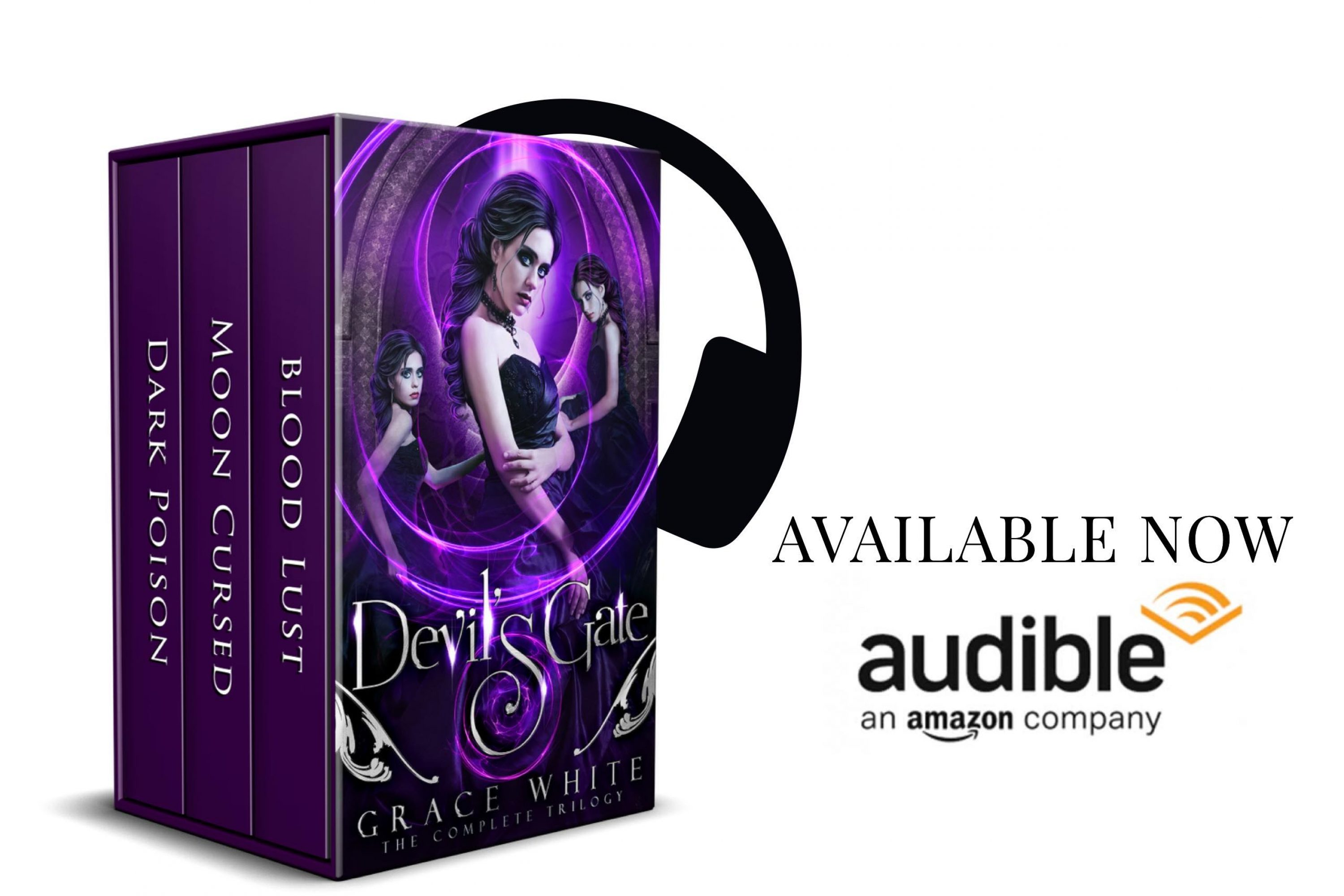 Audiobook Review Tour: Devil's Gate: The Complete Trilogy By Grace White