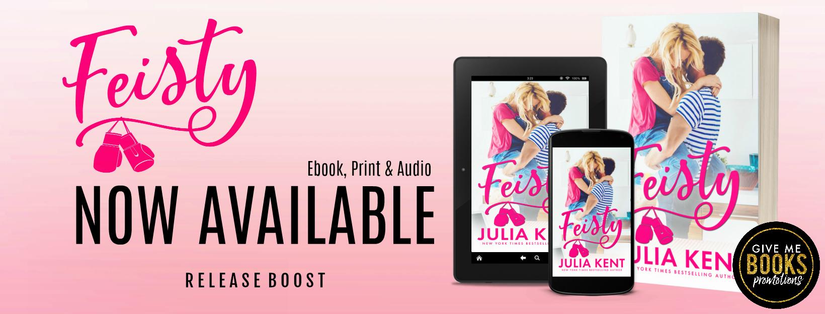 Release Boost: Feisty by Julia Kent