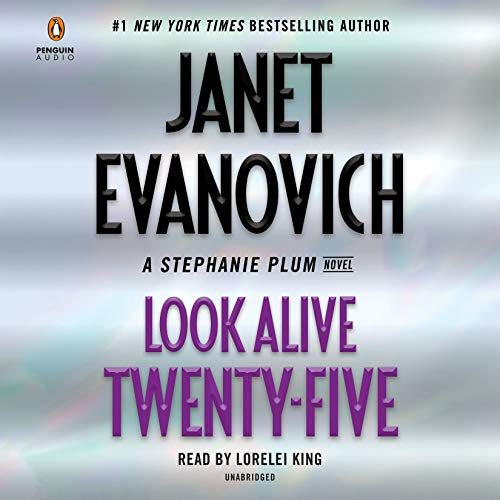 Audiobook Review: Look Alive Twenty-Five by Janet Evanovich