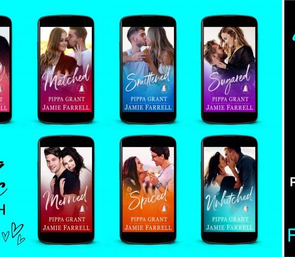 Series Sale: Misfit Brides by Pippa Grant writing as Jamie Farrell
