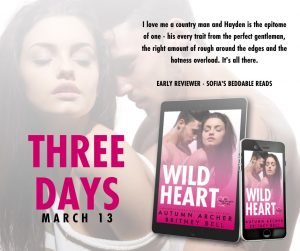 Coming In 3 Days: Wild Heart by Autumn Archer and Britney Bell